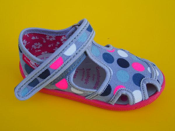 ef8f7f3bc Detské papučky, plátenky a balerínky - detská obuv- prezúvky